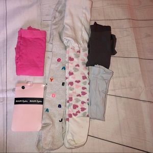 Toddler Girl's Dress Tights Bundle